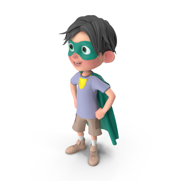 Cartoon Boy Jack Superhero PNG & PSD Images
