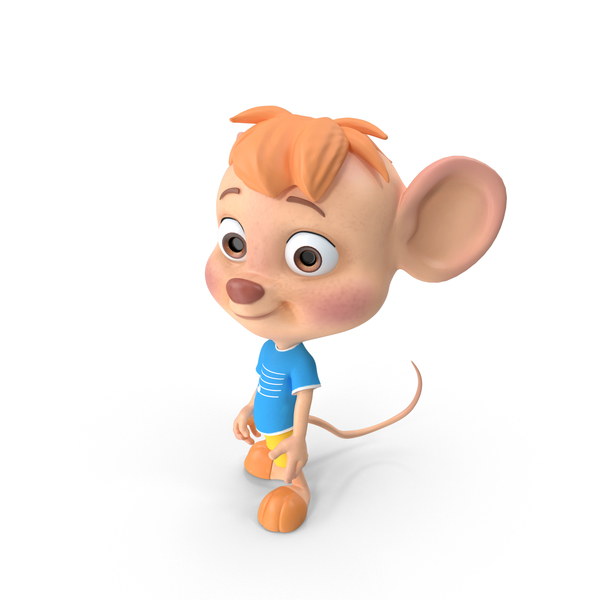 Cartoon Boy Mouse PNG & PSD Images