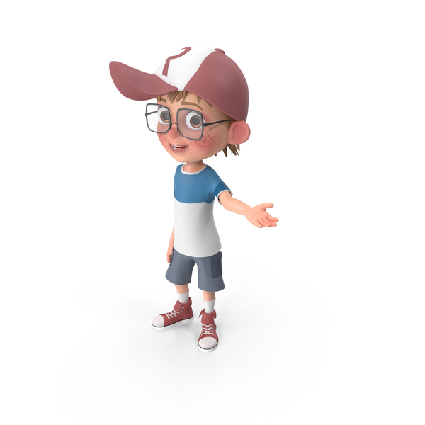 Cartoon Boy Showcase PNG & PSD Images