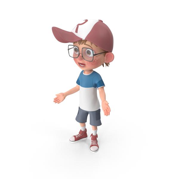 Cartoon Boy Sorry PNG & PSD Images