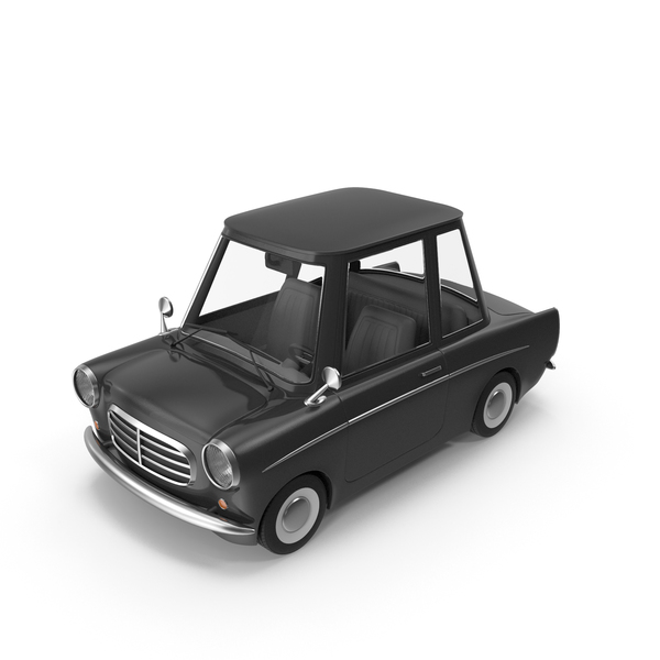 Cartoon Car Black PNG & PSD Images