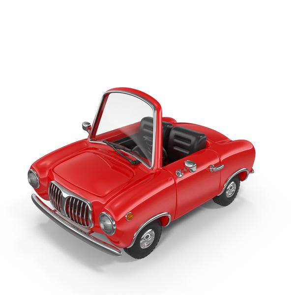 Cartoon Car Cabriolet PNG & PSD Images