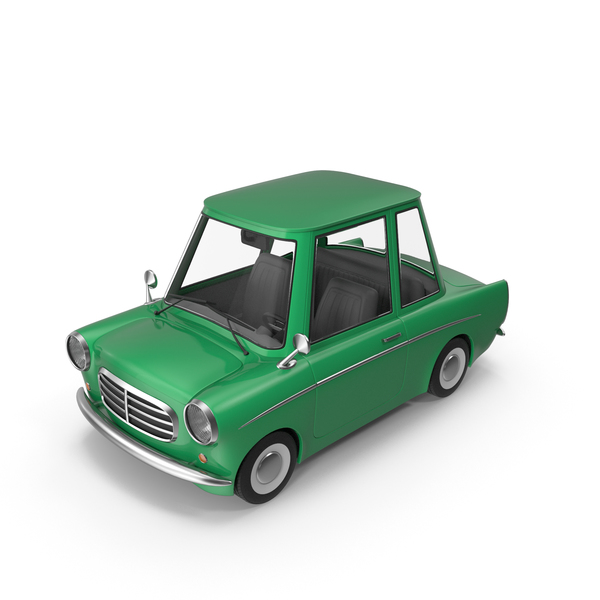 Cartoon Car Green PNG & PSD Images
