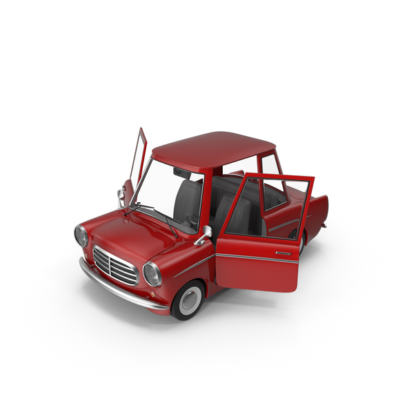 Cartoon Car Open Doors PNG & PSD Images