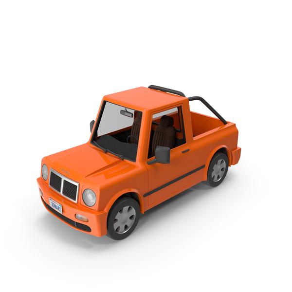 Cartoon Car Pickup PNG & PSD Images