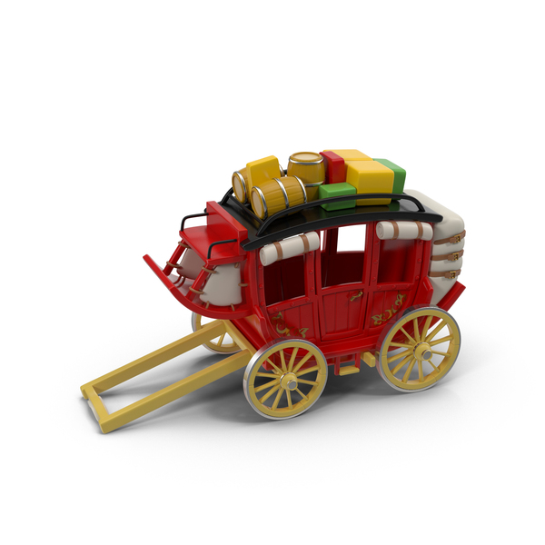 Cartoon Carriage PNG & PSD Images
