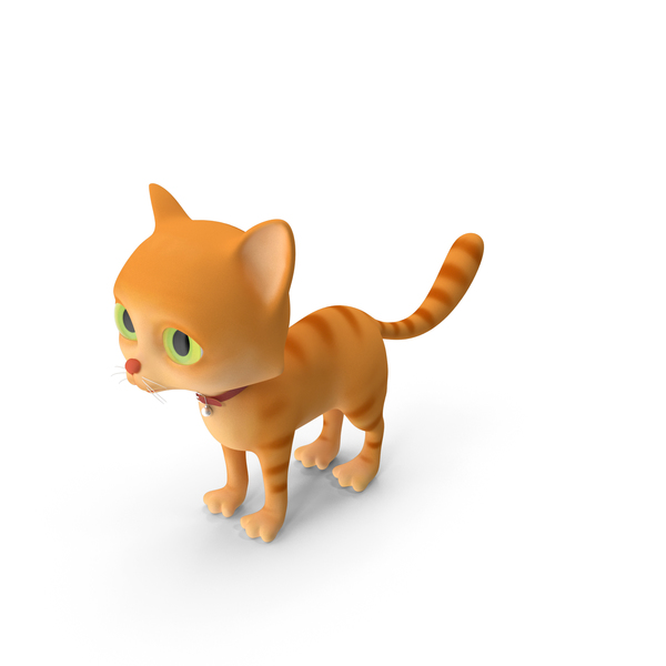 Cartoon Cat PNG & PSD Images