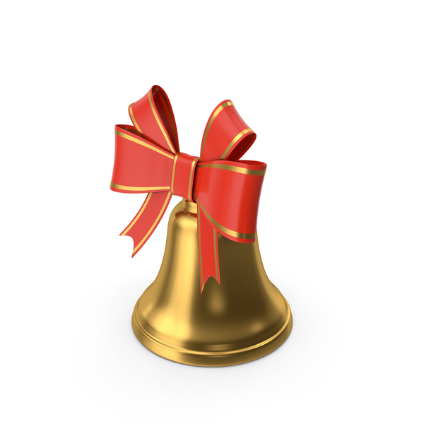 Cartoon Christmas Bell PNG & PSD Images