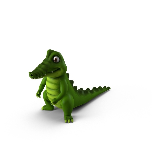 Cartoon Crocodile PNG & PSD Images