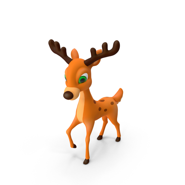Cartoon Deer PNG & PSD Images