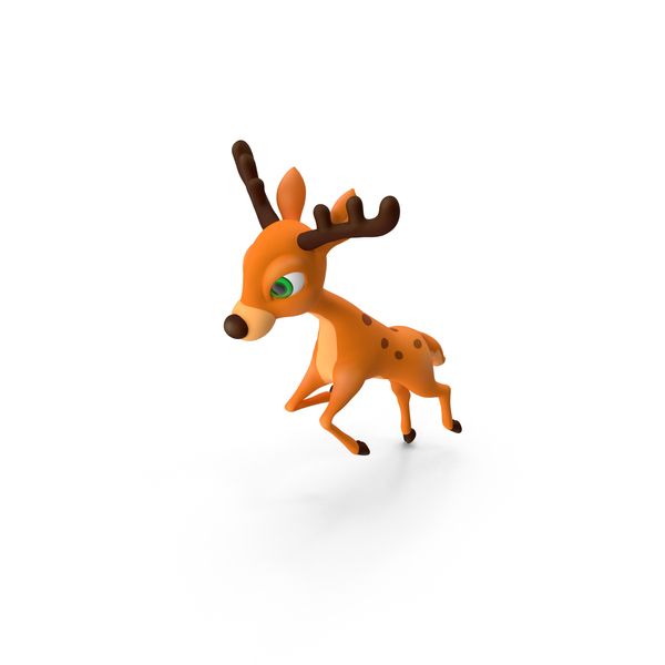 Reindeer: Cartoon Deer PNG & PSD Images