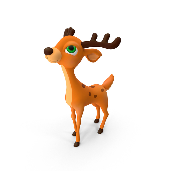 Cartoon Deer Object