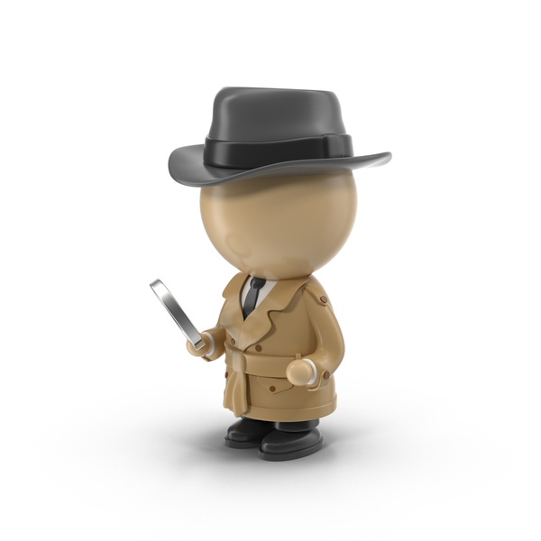 Cartoon Detective PNG & PSD Images