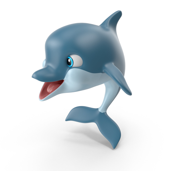 Cartoon Dolphin PNG & PSD Images