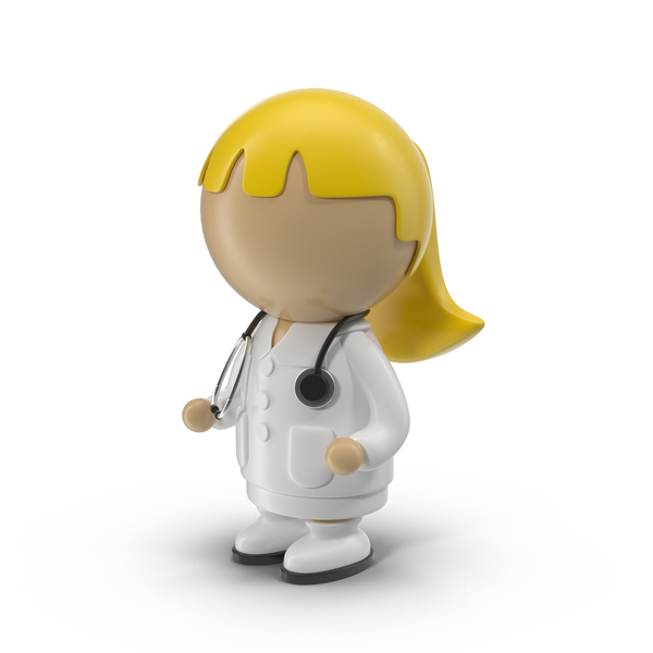 Cartoon Female Doctor PNG & PSD Images