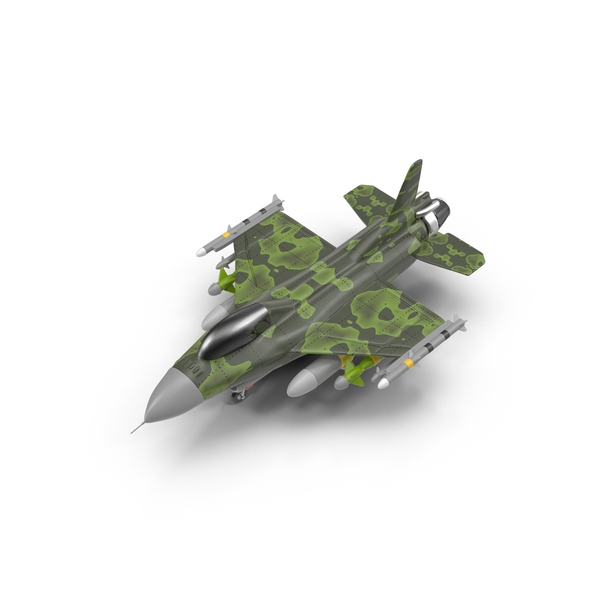 Cartoon Fighter Aircraft PNG & PSD Images