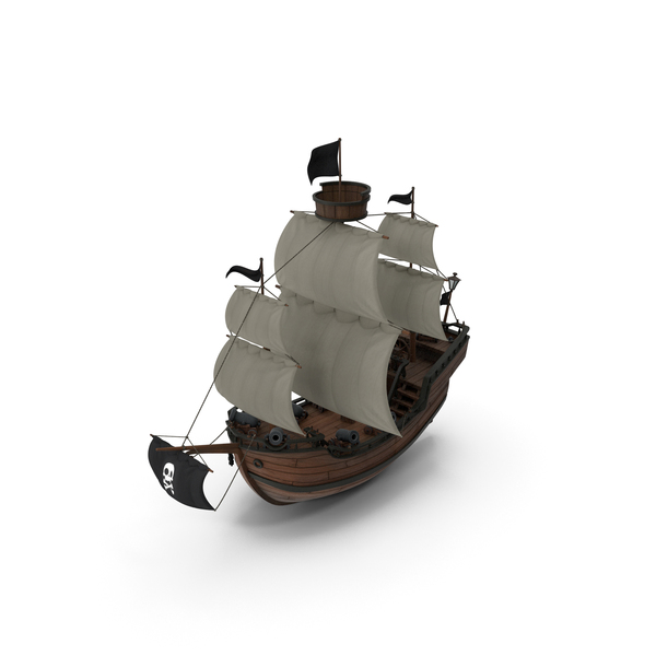 Cartoon Galleon PNG & PSD Images