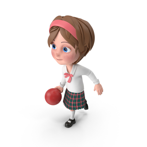 Cartoon Girl Meghan Bowling PNG & PSD Images