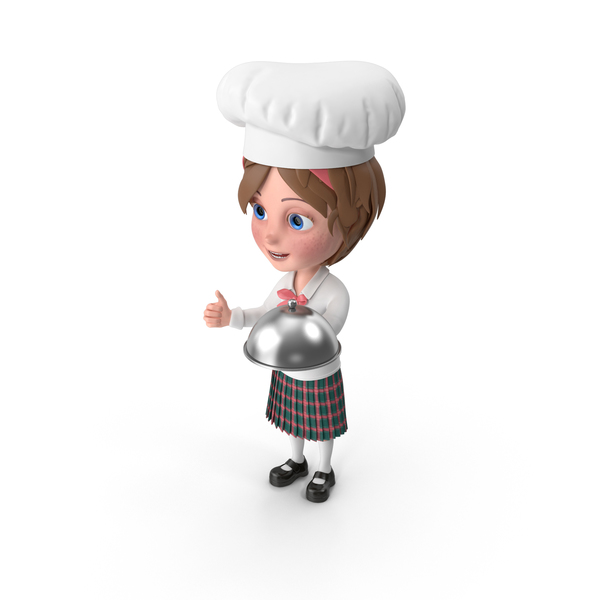 Cartoon Girl Meghan Chef PNG & PSD Images