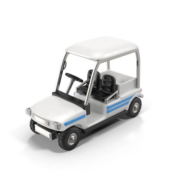 Cartoon Golf Car PNG & PSD Images