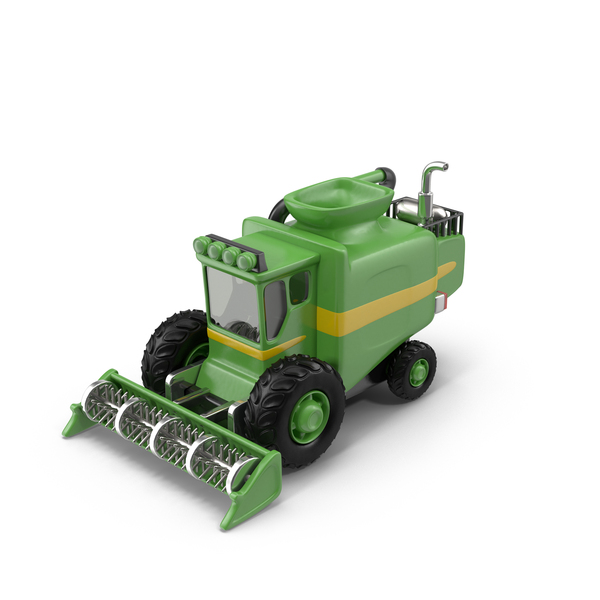 Cartoon Harvester PNG & PSD Images