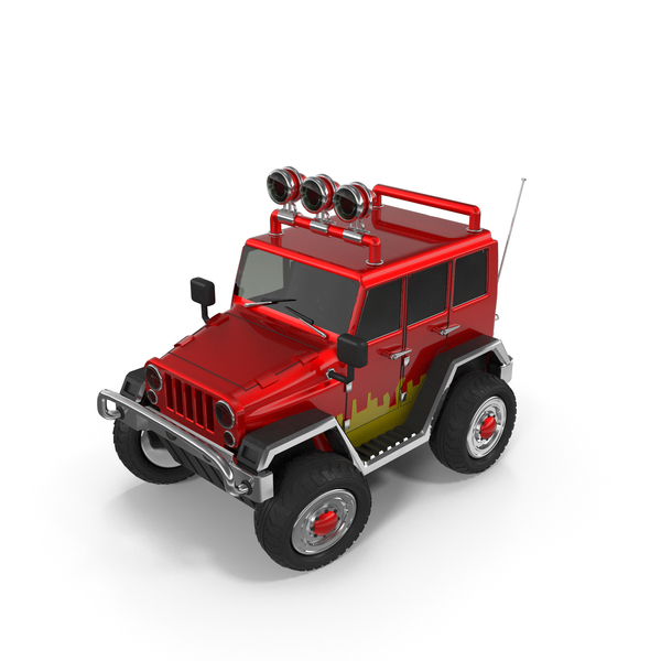 Cartoon Jeep PNG & PSD Images