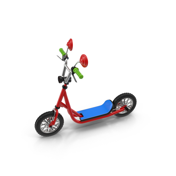 Cartoon Kick Scooter PNG & PSD Images
