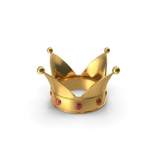 Royal: Cartoon King Crown PNG & PSD Images