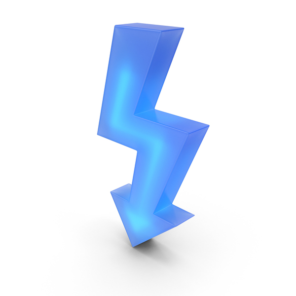 Cartoon Lightning Charge Bolt PNG & PSD Images