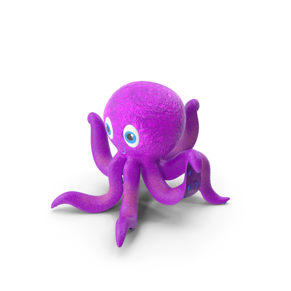 Cartoon Octopus PNG & PSD Images