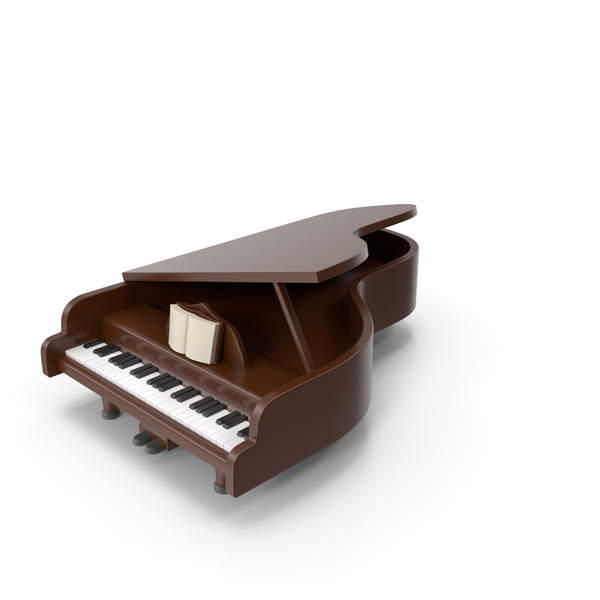 Cartoon Piano PNG & PSD Images