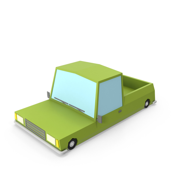 Pick Up: Cartoon Pickup Truck PNG & PSD Images