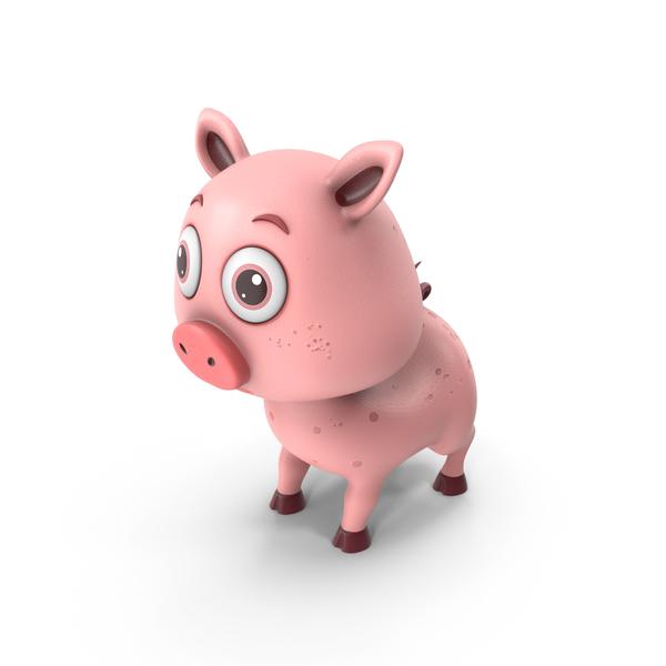 Cartoon Pig PNG & PSD Images