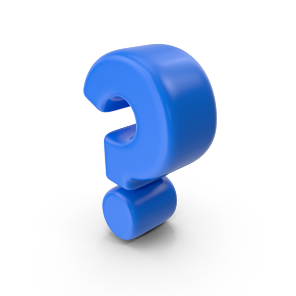 Cartoon Question Mark PNG & PSD Images