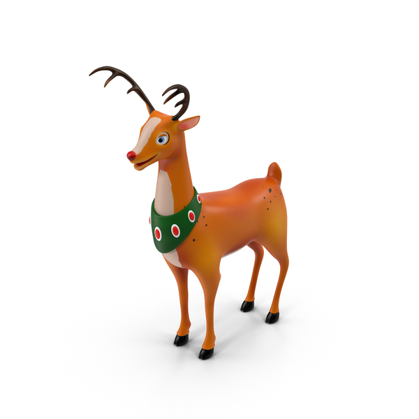 Cartoon Reindeer PNG & PSD Images