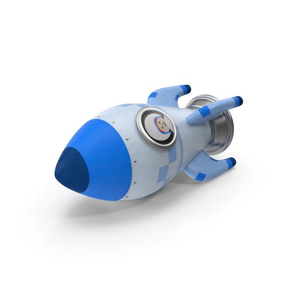Toy: Cartoon Rocket PNG & PSD Images
