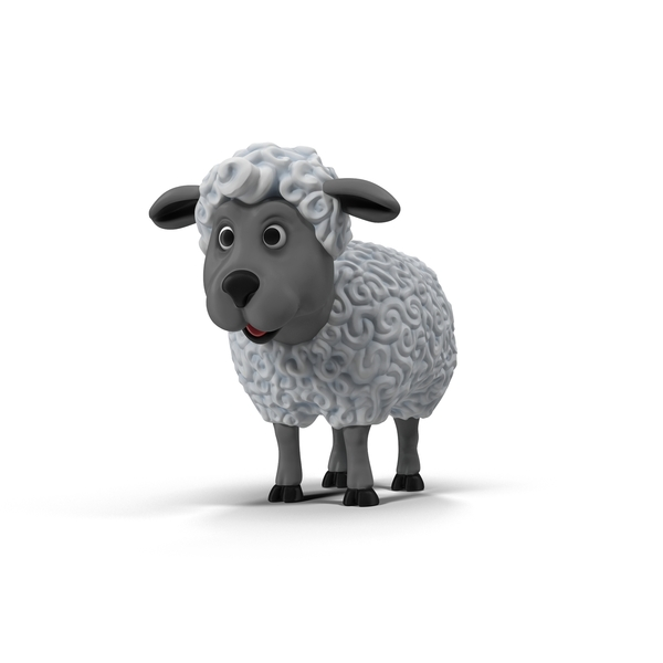 Cartoon Sheep Object