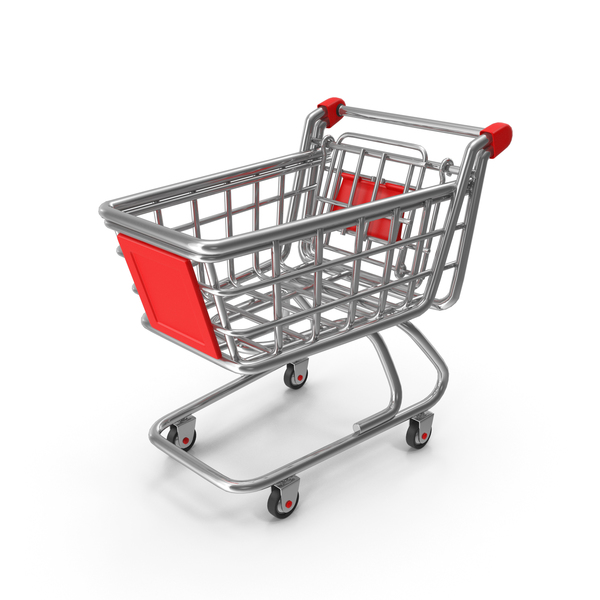 Cartoon Shopping Cart PNG & PSD Images