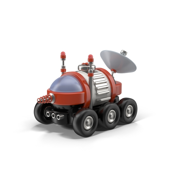 Science Fiction Spacecraft: Cartoon Space Car PNG & PSD Images