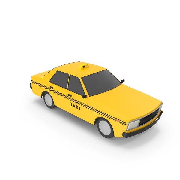 Cartoon Taxi Cab PNG & PSD Images