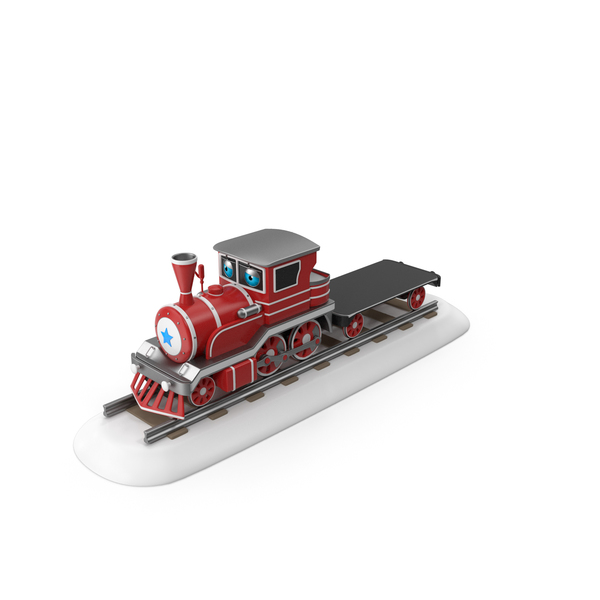 Cartoon Toy Train PNG & PSD Images