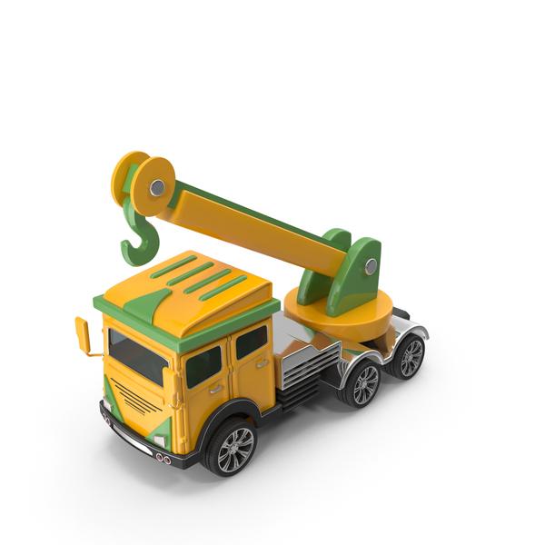 Cartoon Truck Crane PNG & PSD Images
