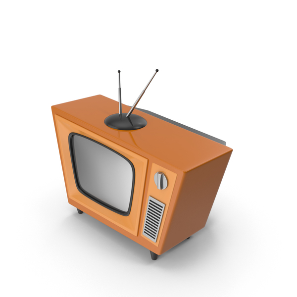 Cartoon Vintage Television PNG & PSD Images