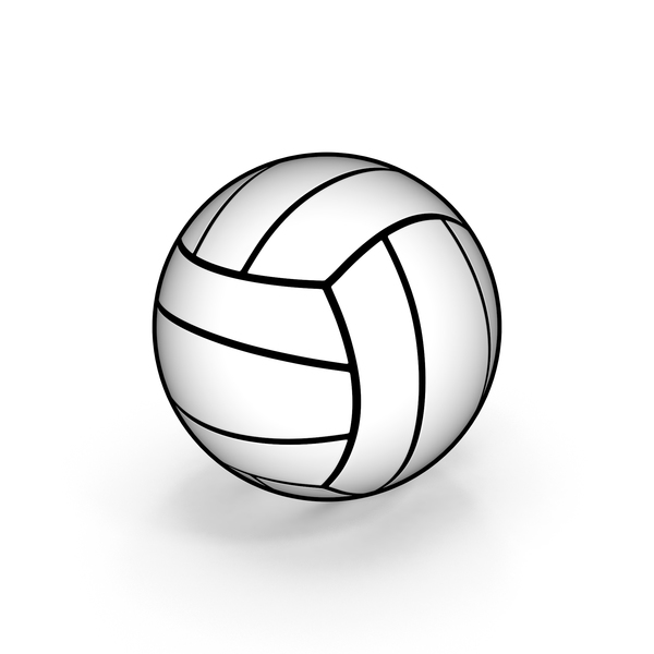Ball: Cartoon Volleyball PNG & PSD Images