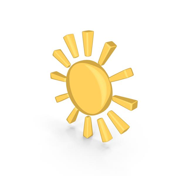 Cartoon Weather Forecast Sun PNG & PSD Images