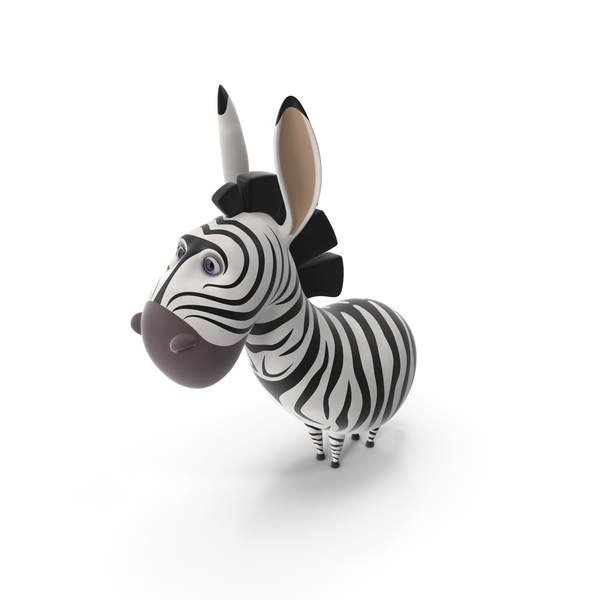 Cartoon Zebra PNG & PSD Images