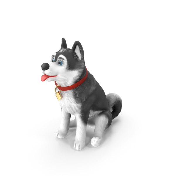 Cartoony Dog Sitting PNG & PSD Images