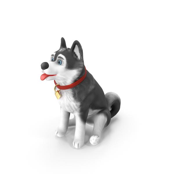 Cartoon: Cartoony Dog Sitting PNG & PSD Images