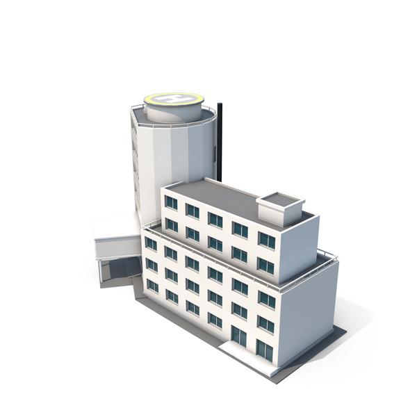 Cartoony Hospital PNG & PSD Images