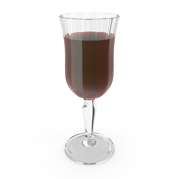 Carved Glass With Wine PNG & PSD Images